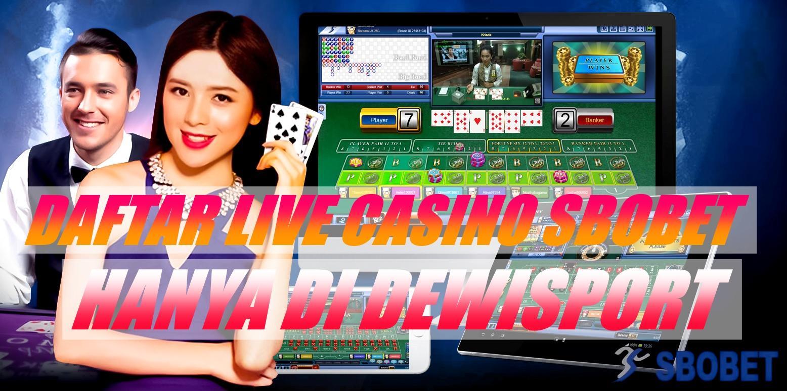 Cara Daftar Judi Casino Online Sbobet